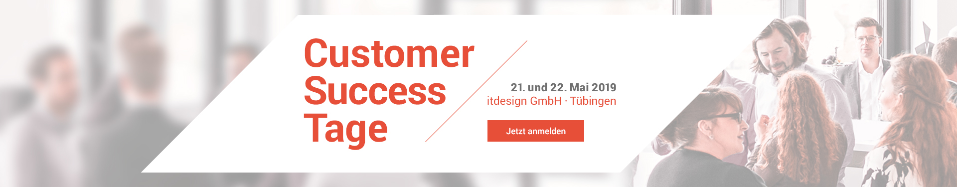 Customer Success Tage am 21. und 22. Mai 2019