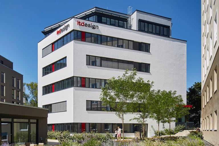 Firmengebäude von itdesign